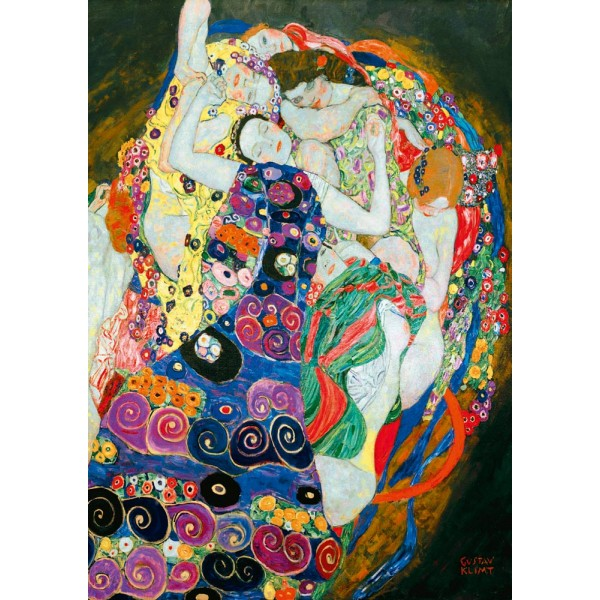 Młode dziewice, Gustav Klimt,1913 (1000el.) - Sklep Art Puzzle