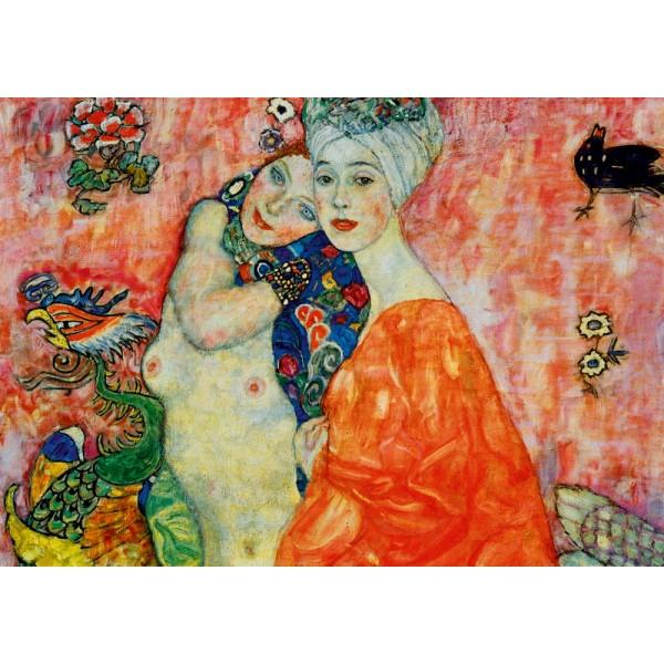 Przyjaciółki, Gustav Klimt, 1917 (1000el.) - Sklep Art Puzzle