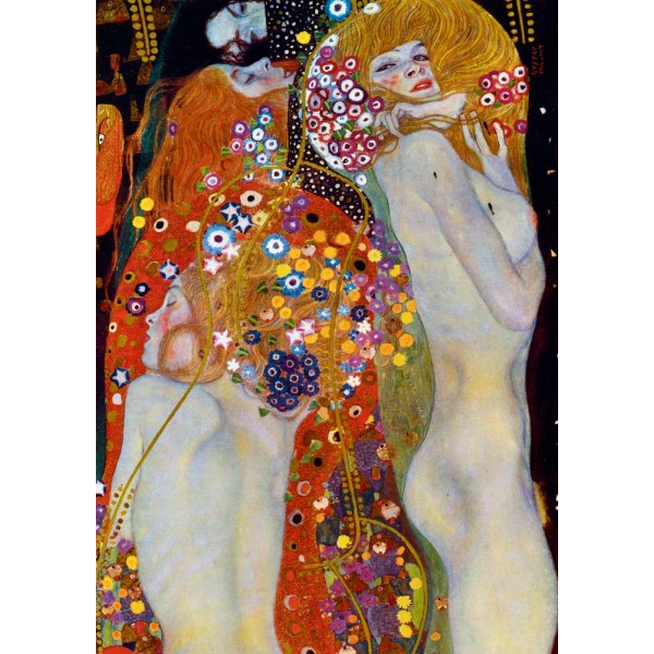 Wodne serpentyny, II Gustav Klimt, 1907 (1000el.) - Sklep Art Puzzle