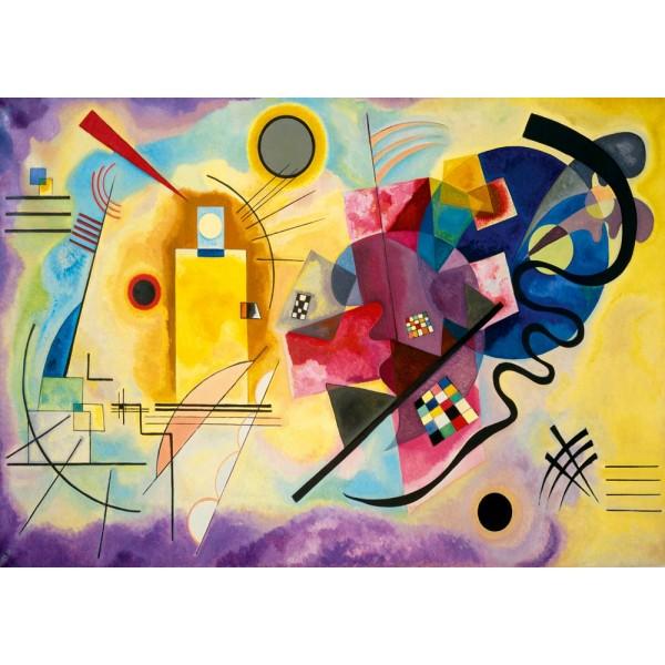 Żółty, czerwony, niebieski, Kandinsky, 1925 (1000el.) - Sklep Art Puzzle