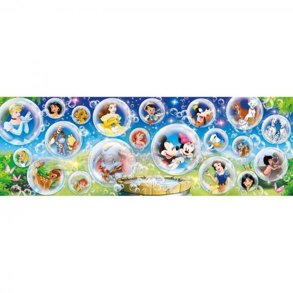 Bohaterowie bajek Disneya- panorama (1000el.) - Sklep Art Puzzle