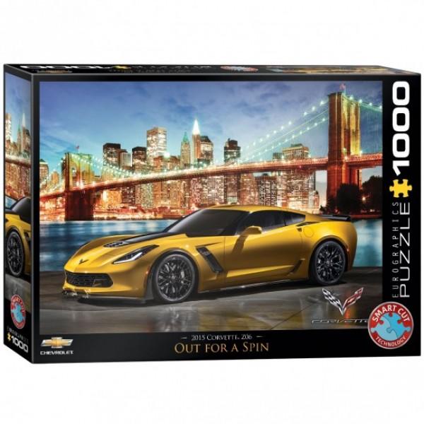 Corvette Z06 (1000el.) - Sklep Art Puzzle