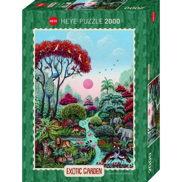 Egzotyczny ogród, Raj dla dzikich zwierząt, Marie Amalia Bartolini (2000el.) - Sklep Art Puzzle
