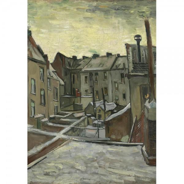 Domy, Van Gogh - Sklep Art Puzzle