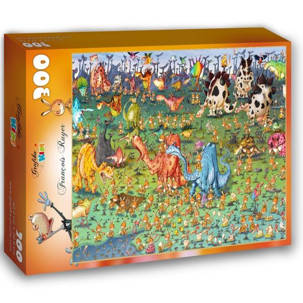 Ruyer Francois, Dinozaury (300el.) - Sklep Art Puzzle
