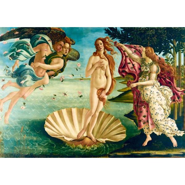 Narodziny Wenus, Botticelli, 1485 (1000el.) - Sklep Art Puzzle