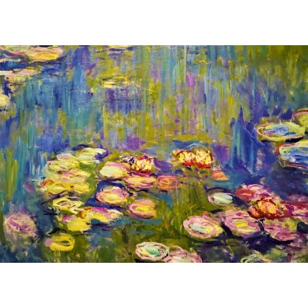 Nenufary, Claude Monet (1000el.) - Sklep Art Puzzle