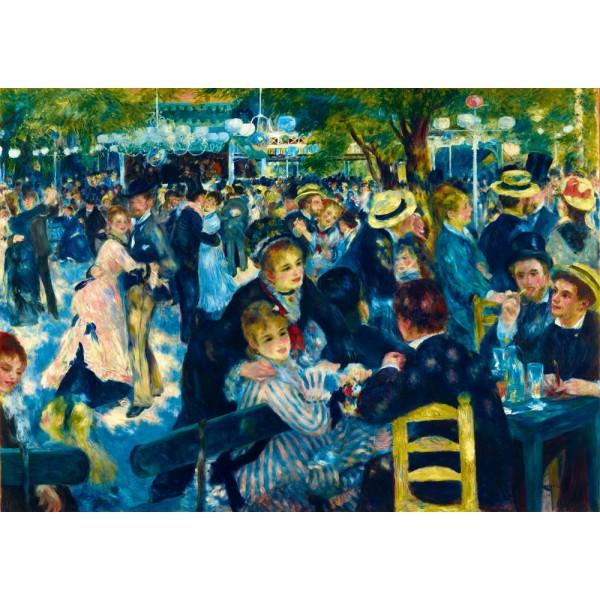Tańce w Le Moulin de la Galette,Renoir, 1876 (1000el.) - Sklep Art Puzzle