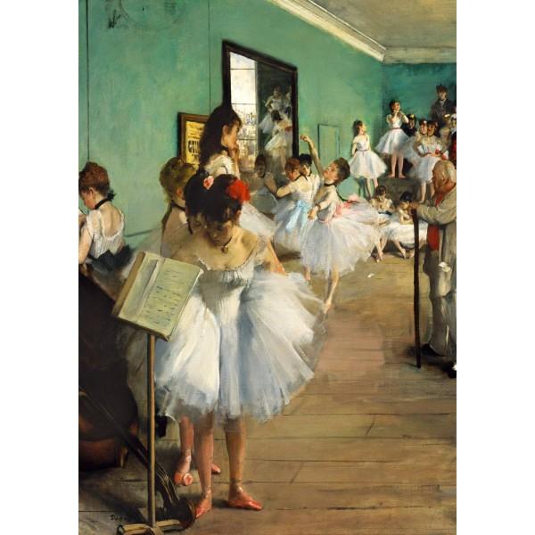 Szkoła tańca, Edgard Degas  1874 (1000el.) - Sklep Art Puzzle