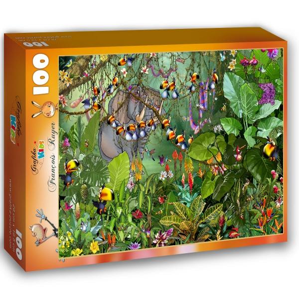 Ryuer Francois, Tukany w dżungli (100el.) - Sklep Art Puzzle