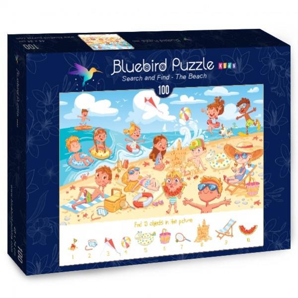 Znajdź szczegóły- Plaża (100el.) - Sklep Art Puzzle