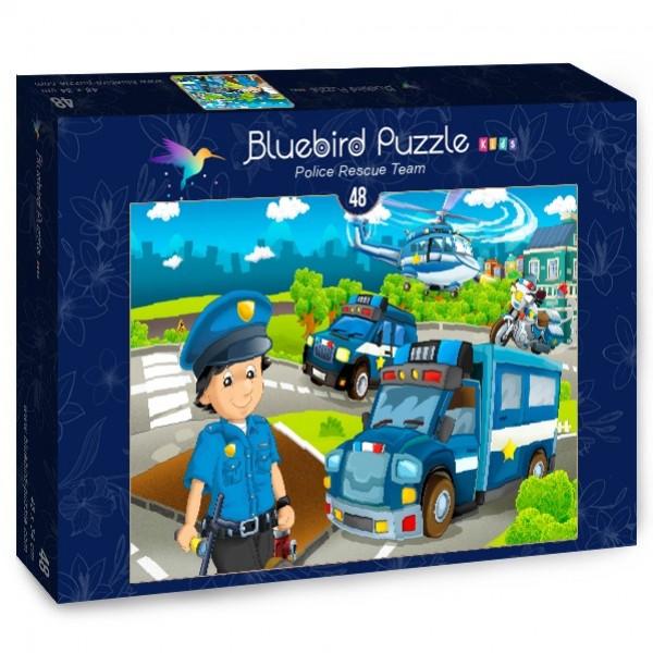 Policyjny zespół ratowniczy (48el.) - Sklep Art Puzzle