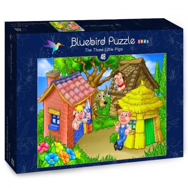 Trzy małe świnki (48 el.) - Sklep Art Puzzle