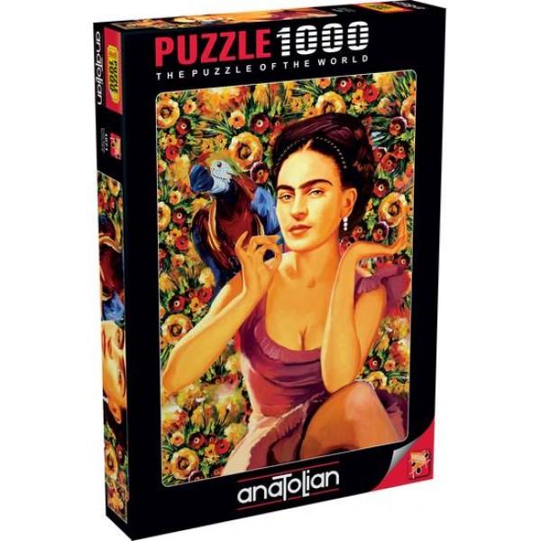 Frida Kahlo, Serhat Filiz (1000el.) - Sklep Art Puzzle