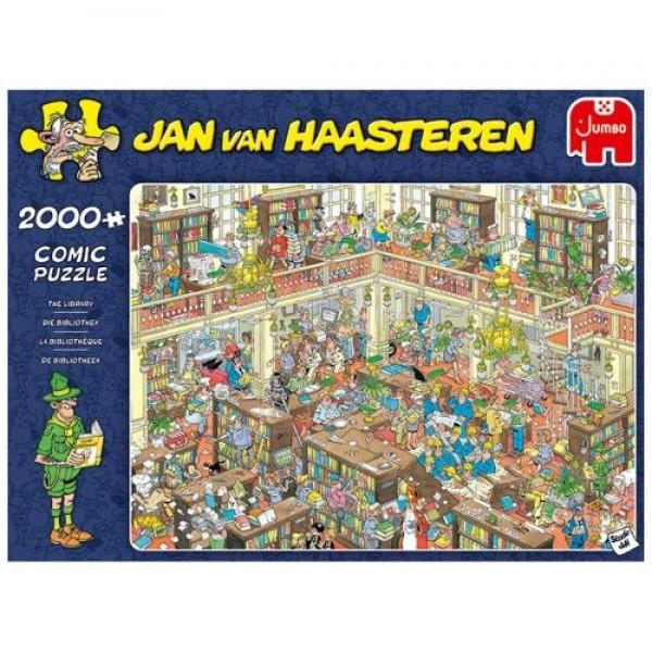 Biblioteka, JvH (2000el.) - Sklep Art Puzzle