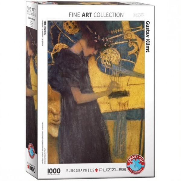 Muzyka, Klimt, 1000el. (Smart Cut Technology) - Sklep Art Puzzle