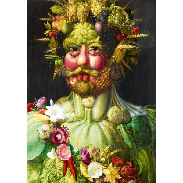 Cesarz Rudolf II Habsburg,Arcimboldo, 1590 (1000el.) - Sklep Art Puzzle