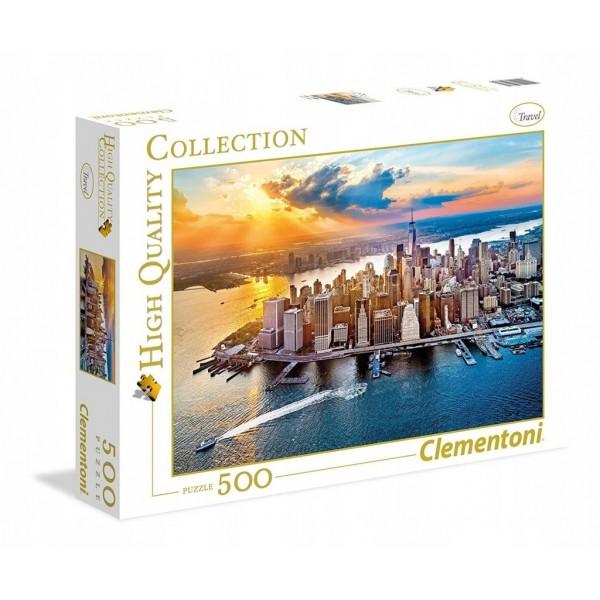 Nowy York, Widok na Manhattan (500el.) - Sklep Art Puzzle