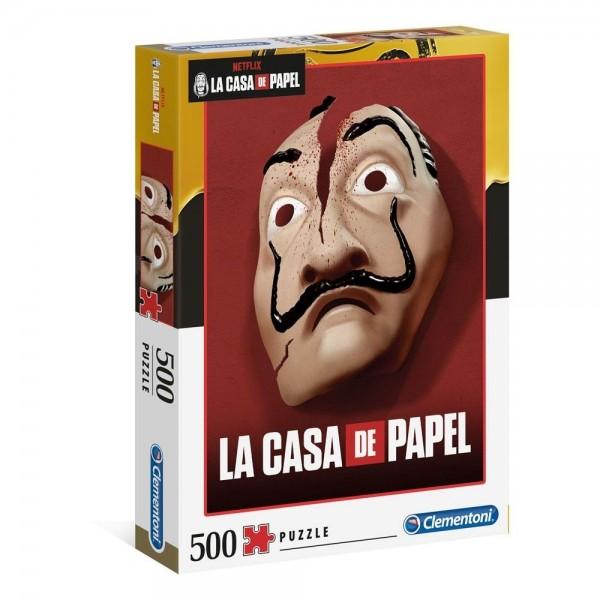Dom z papieru- Maska (500el.) - Sklep Art Puzzle