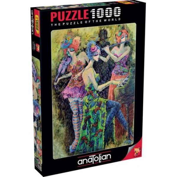 Kolorowe trio, Derya Yildiz (1000el.) - Sklep Art Puzzle