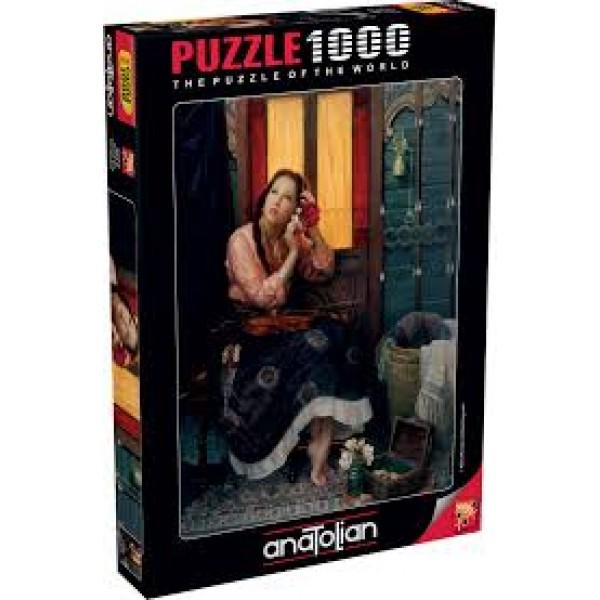 Karmazynowa Róża, Alan Murray (1000el.) - Sklep Art Puzzle