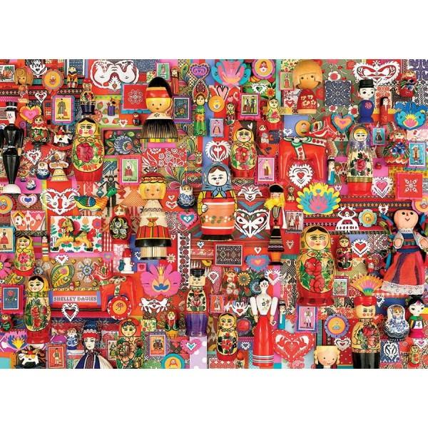 Lalki ( Puzzle+plakat) - Sklep Art Puzzle