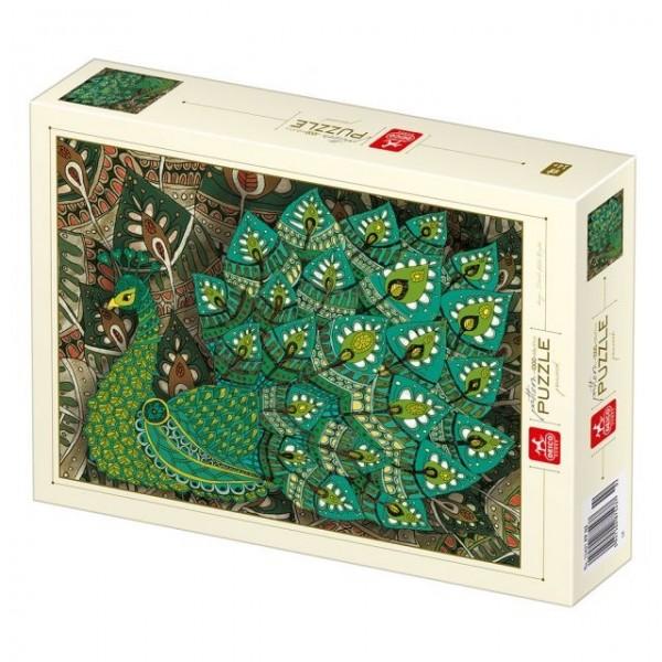 Kolorowy paw (1000el.) - Sklep Art Puzzle