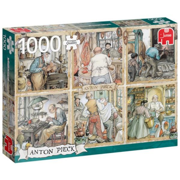 Rzemiosło, Anton Pieck (1000el.) - Sklep Art Puzzle