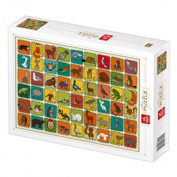 Natura, Kolekcja-dzikie zwierzęta (1000el.) - Sklep Art Puzzle