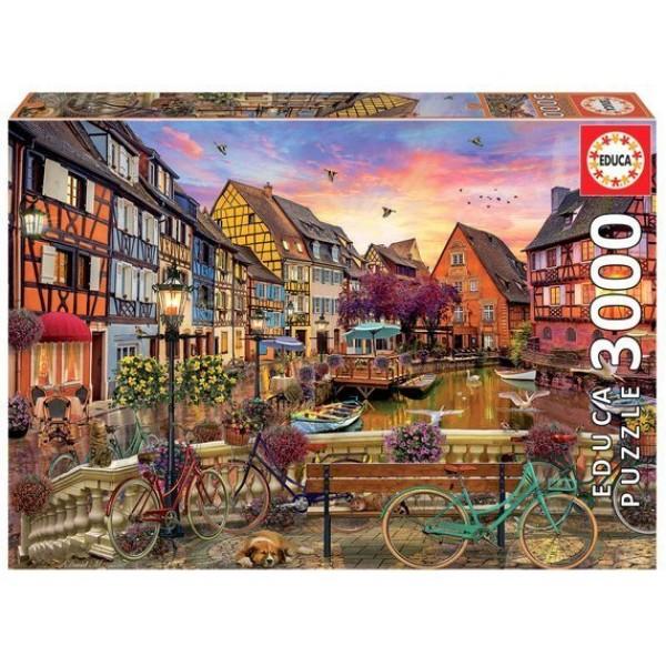 Francja, Colmar (3000el.) - Sklep Art Puzzle