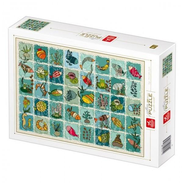 Natura, Kolekcja-podwodne zwierzęta (1000el.) - Sklep Art Puzzle