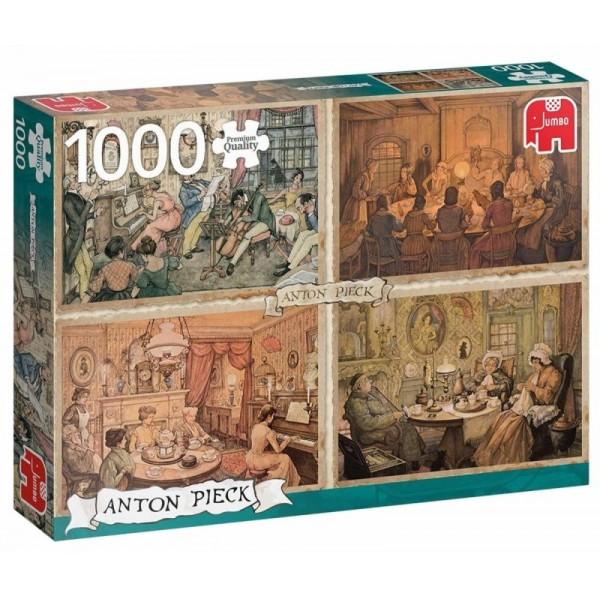 Spotkania, Antony Pieck (1000el.) - Sklep Art Puzzle