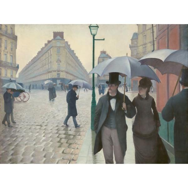 Deszczowy dzień, Caillebotte (2000el.) - Sklep Art Puzzle