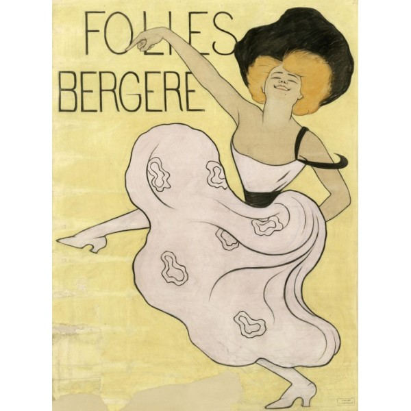Folies Bergères, Leonetto Cappiello, 1905 (2000el.) - Sklep Art Puzzle