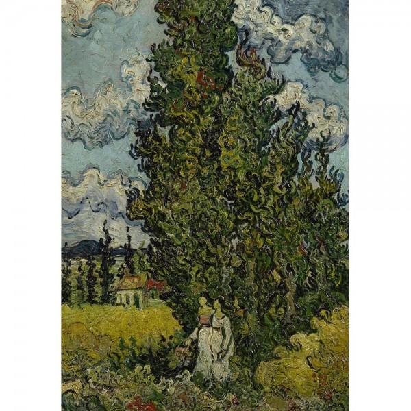 Cyprys, Van Gogh - Sklep Art Puzzle