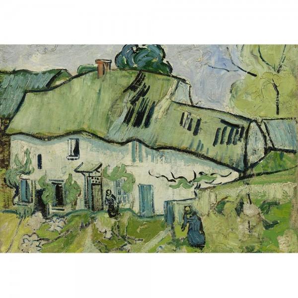 Dom na wsi, Van Gogh - Sklep Art Puzzle
