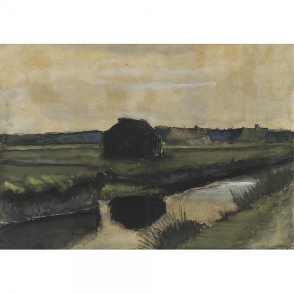 Farma, Van Gogh - Sklep Art Puzzle