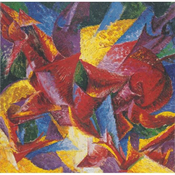 Plastikowe formy Konia, Umberto Boccioni, 1914 (1500el.) - Sklep Art Puzzle