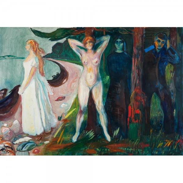 Kobieta, Munch - Sklep Art Puzzle
