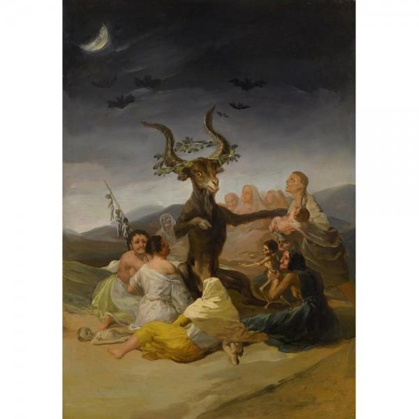 Sabat czarownic, Goya - Sklep Art Puzzle