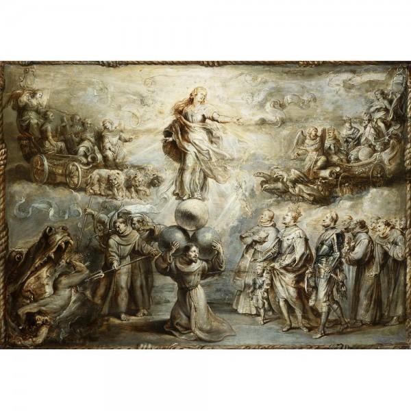 Alegoria Niepokalanej, Rubens - Sklep Art Puzzle