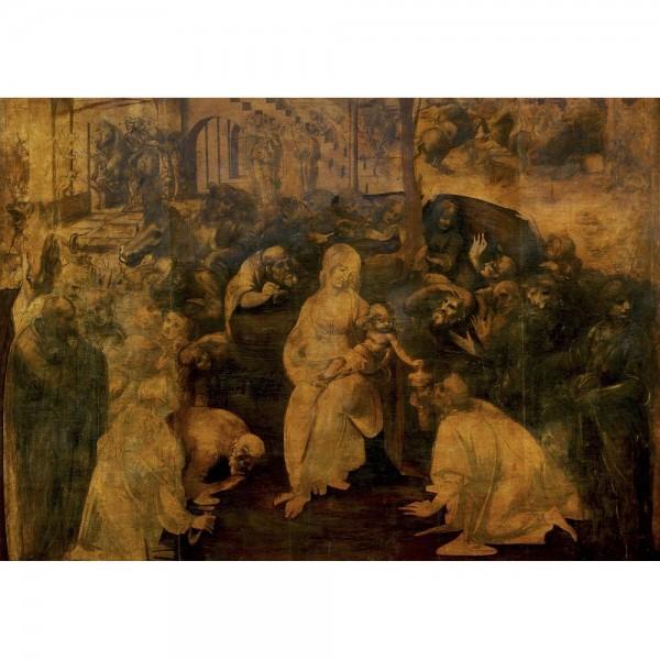 Pokłon trzech króli, Da Vinci - Sklep Art Puzzle