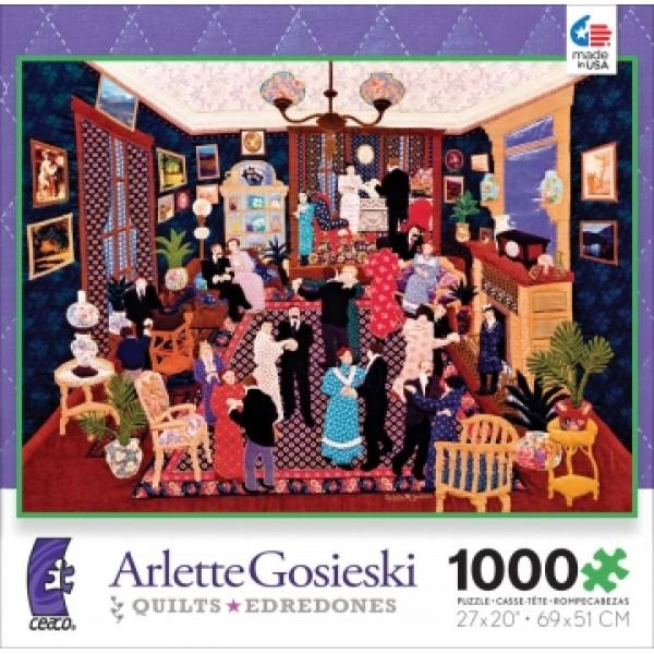 Impreza w Linette, Arlette Gosieski - Sklep Art Puzzle