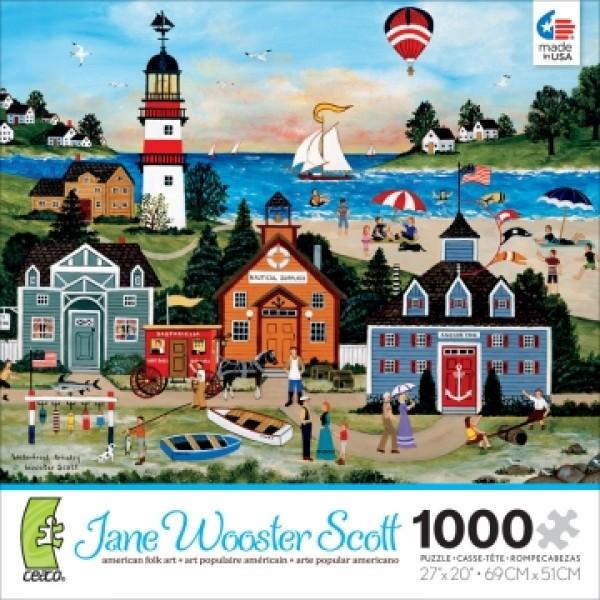 Latarnia morska, Jane Wooster Scoot - Sklep Art Puzzle