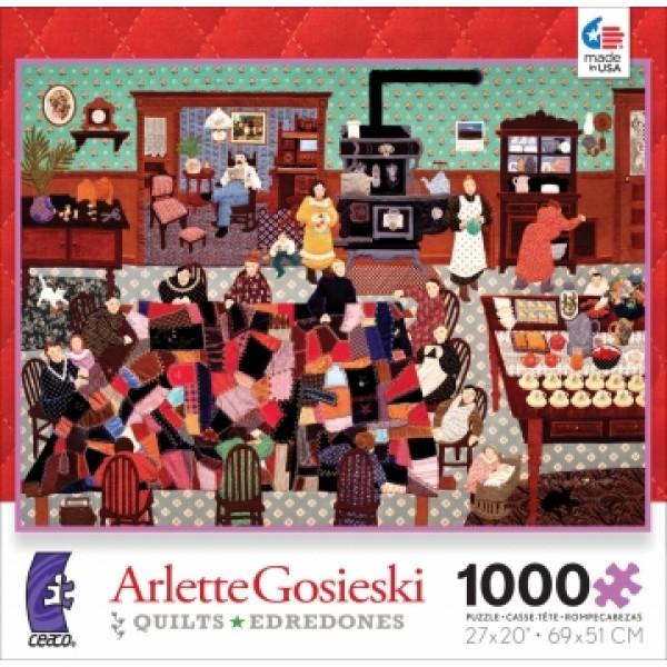 Szalona kołdra, Arlette Gosieski - Sklep Art Puzzle