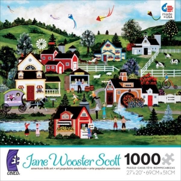 Perfekcyjny dzień, Jane Wooster Scoot - Sklep Art Puzzle