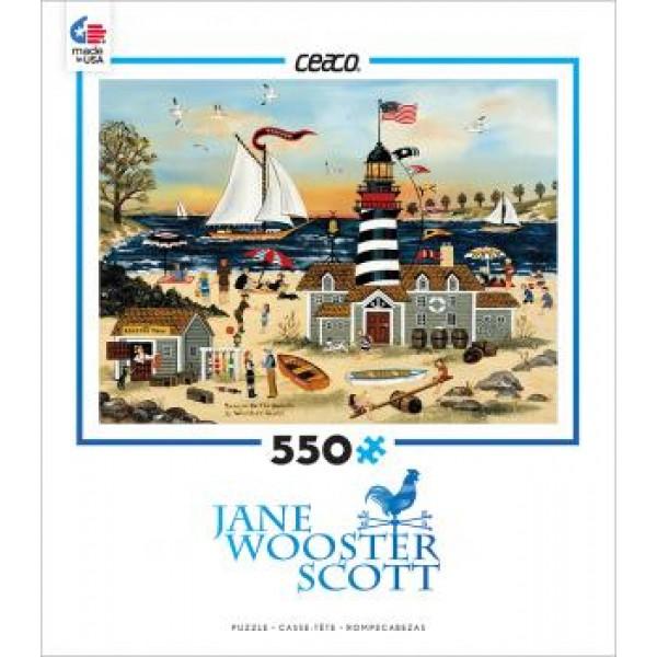 Odpoczynek na plaży, Jane Wooster Scoot - Sklep Art Puzzle