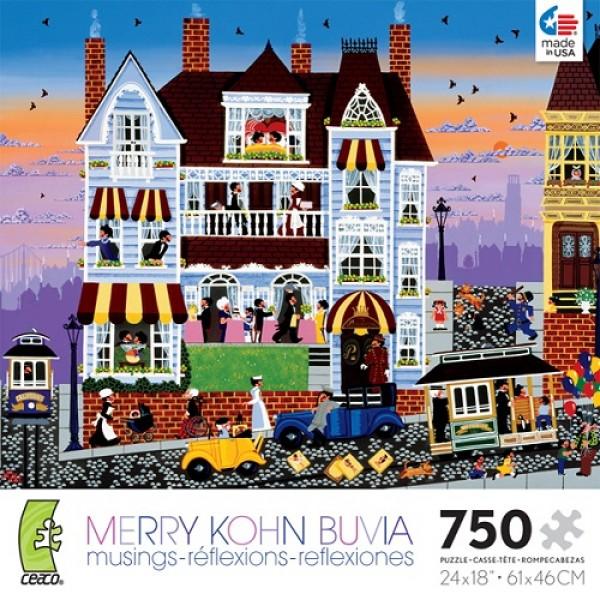 Refleksja nad życiem, Merry Kohn - Sklep Art Puzzle