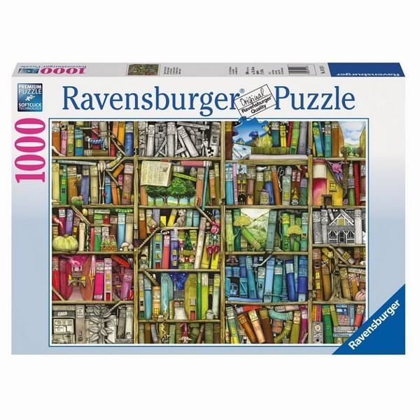 Dziwna księgarnia, Colin Thompson - Sklep Art Puzzle