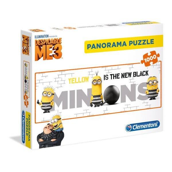 Minionki- panorama - Sklep Art Puzzle